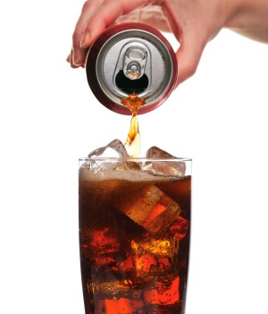Soft drinks: even one a week is too much.