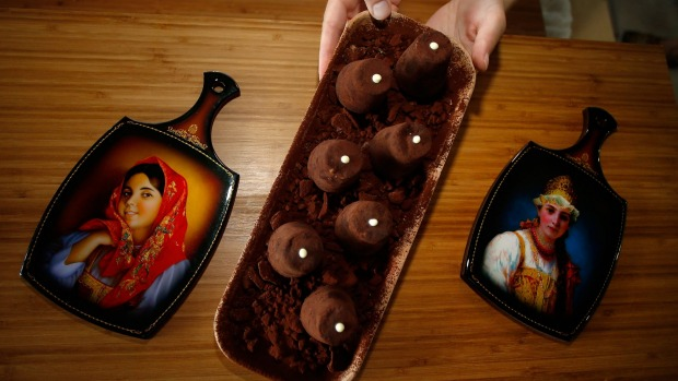 Back in the USSR: The kartoshka is a Soviet-era treat made from crushed biscuits mixed with butter cream.