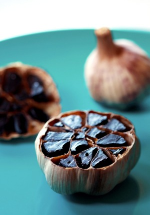 Future food trend: Black garlic.