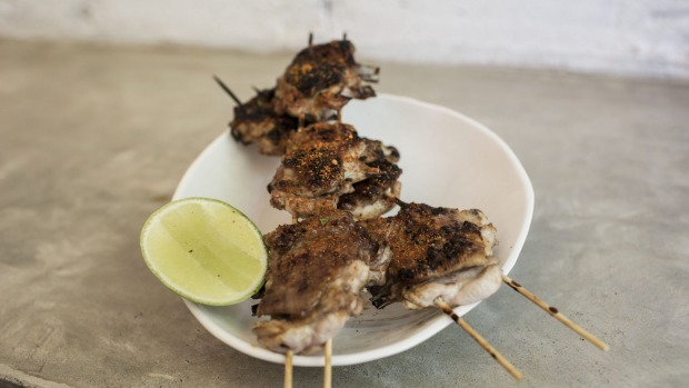 Simple pleasure: Yakitori chicken