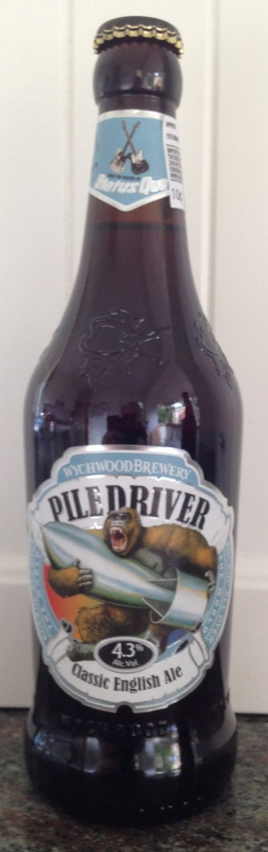Rich, smooth palate: Wychwood Brewery Pile Driver Classic English Ale.