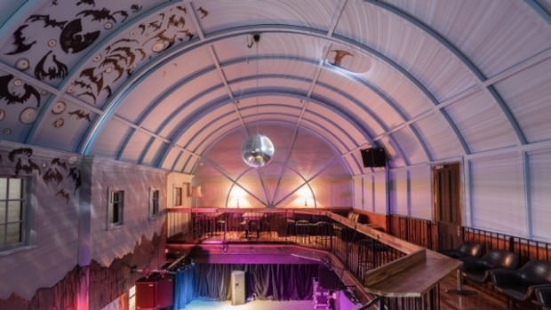 The heights of success: Gasometer Hotel in Collingwood has a retractable roof.