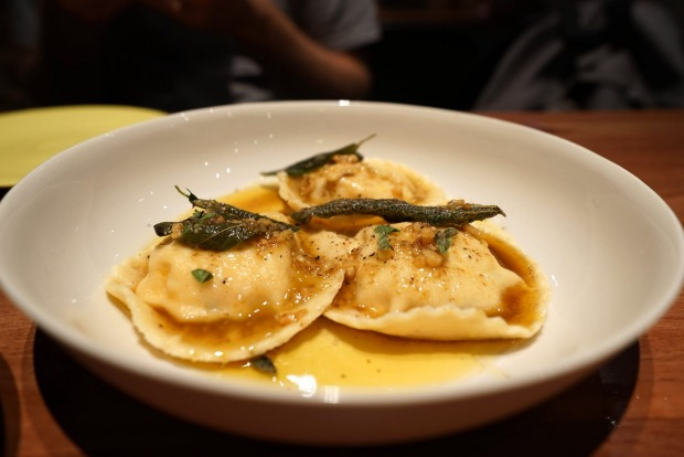 By night, Two Chaps channels Italy and serves brilliant antipasti, foccacia and pasta - such as ravioli with pumpkin, ...