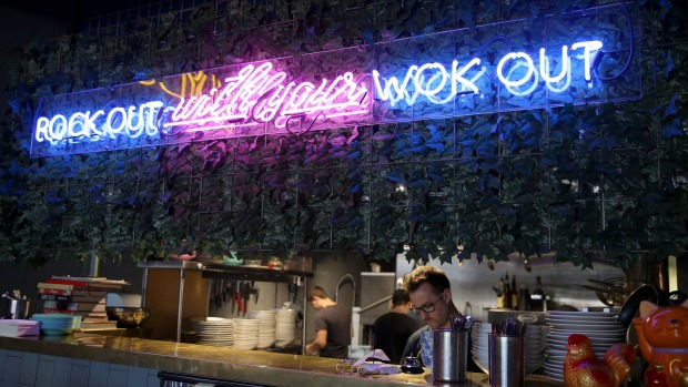 Rock out with your wok out at LadyBoy, Richmond.