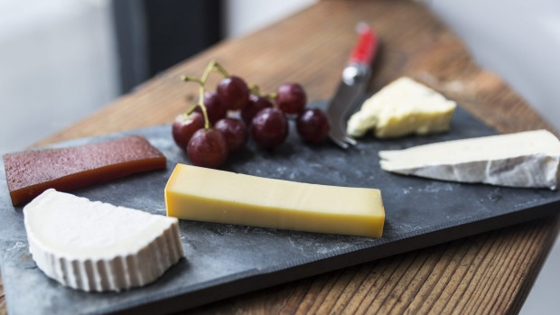 Cheese please: a cheeseboard at the Shifty Chevre.
