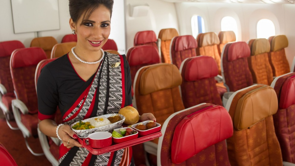 Air India will only be serving vegetarian food on domestic flights.