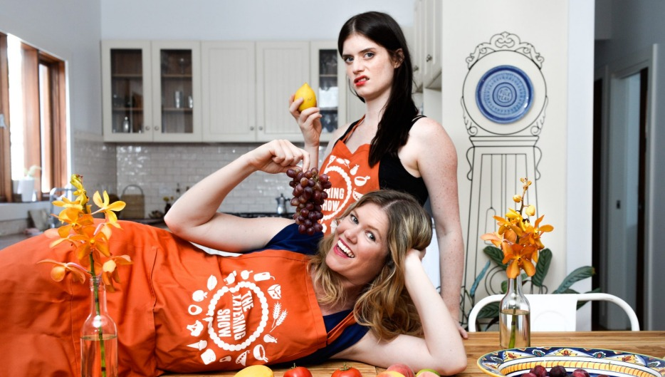 Answering your questions: Kate McLennan and Kate McCartney of <i>The Katering Show</i>.