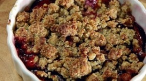 Sugar plum crumble