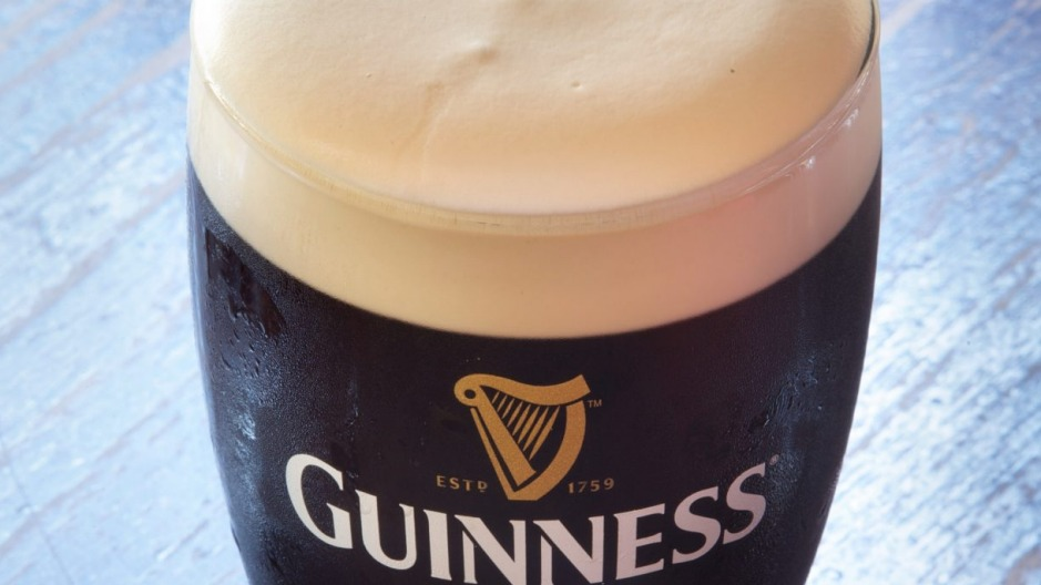 The fish guts is coming out of Guinness  in Ireland, but in Australia it's already gone.