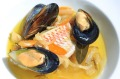 Fillet of red mullet with mussels at Cafe Nice, similar to a dish that Josh Niland plans to serve at Saint Peter.