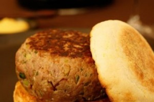 Incredibly rich beef tartare burgers