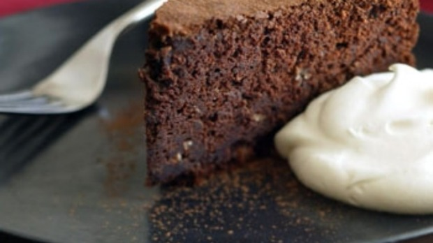 Chocolate, chestnut and sherry cake Recipe
