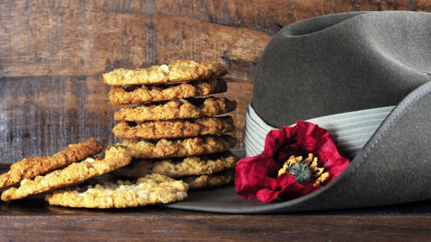 The iconic Anzac biscuit.
