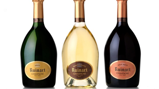 Magnums of Ruinart Blanc de Blanc were served to celebrate.
