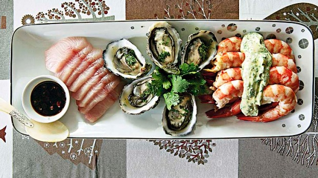 Seafood Platter By Jerermy And Jane Strode