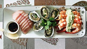 Seafood platter by Jerermy and Jane Strode.
