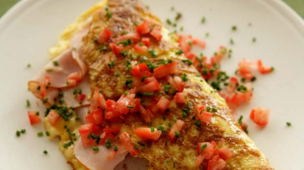 how to cook tomato omelette