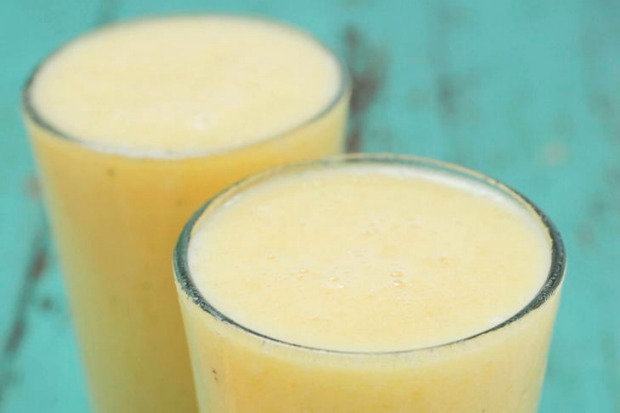 Bounce back from a tiring workout with this orange and banana 'recovery' smoothie. <a ...