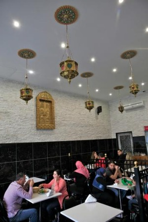 Abbout Falafel House in Coburg.