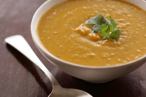 Thai pumpkin soup.
