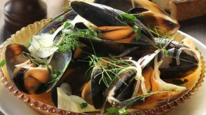 Mussels, fennel and vermouth