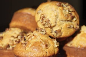 Spicy Carrot and Walnut Muffins Friday the 20th of July 2012 Feature SMH Picture by FIONA MORRIS