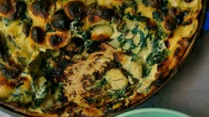 Gnocchi Bake with Spinach, Mushroom and Ricotta