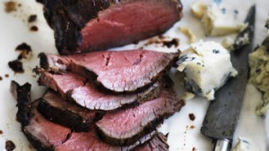 Neil Perry's roast beef and gorgonzola.