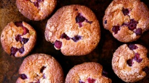 Apple and Raspberry Mini-Teacakes