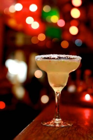 Spice up your night ... Cantina Bar's jalapeno margarita.