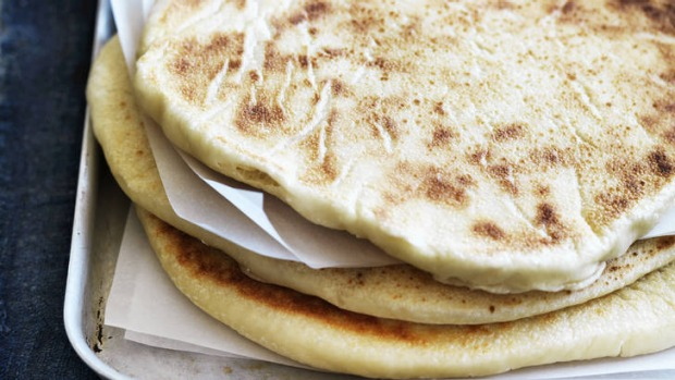 Middle Eastern Flat Bread Recipe Good Food