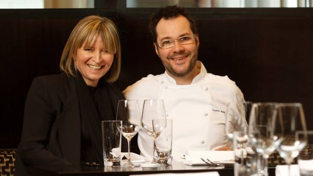 Chef and owners Vicki Wild and Martin Benn from Sepia.