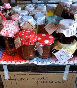 Preserves at Lady Bower Kitchen.
