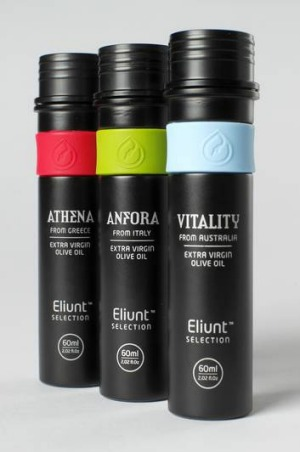 New product ... Eliunt olive oils.