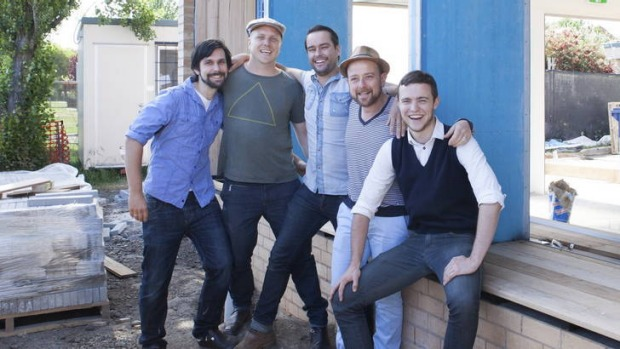 St Ali staffers include (from left to right) Jamie Thomson, Matt Perger, Chris Hamburger, Salvatore Malatesta and Jesse ...