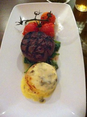 It wouldn't be a pub without steak...The Alliance Hotel.