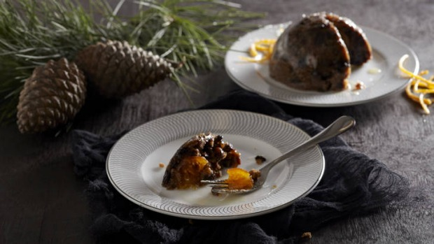 Off the shelf ... Heston Blumenthal's pudding is now available in Australia.