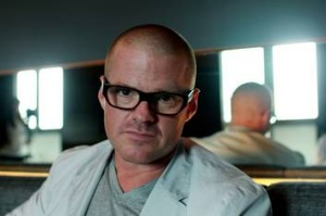 Chef Heston Blumenthal.