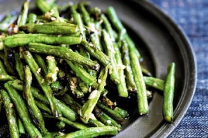Neil Perry's stir-fried snake beans.