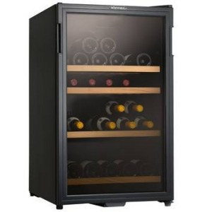 30-bottle Vintec wine fridge.