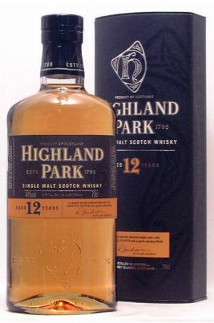 Highland Park fine whisky.