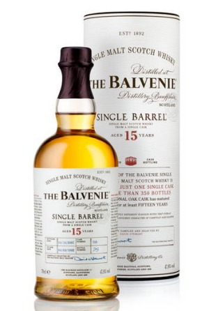 The Balvenie Single Barrel.