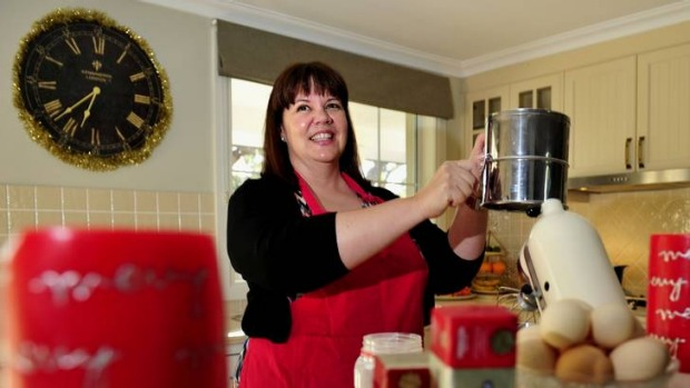 Tasty ... Marguerite Gordon, of Ainslie,  has been  making homemade edible Christmas gifts for family and friends two ...