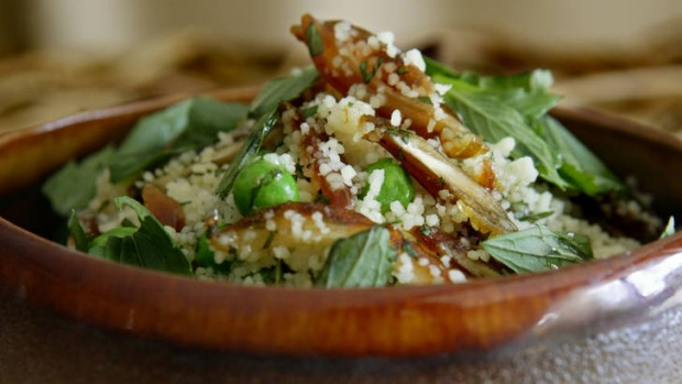 This couscous is a perfect option for a vegetarian spread.