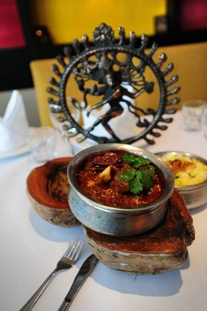 Flavour-packed goat curry at Jewel of India.