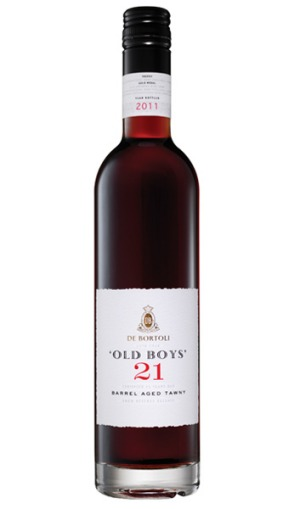 Best fortified: De Bortoli's 'Old Boys' 21 barrel-aged tawny.