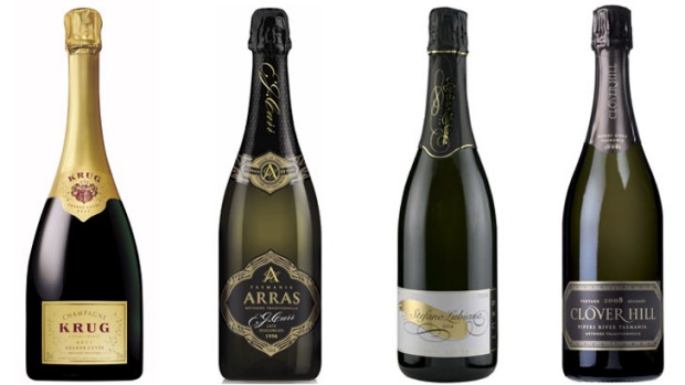 Australia doesn't have anything matching Krug, but the top shelf bubblies such as House of Arras, Stefano Lubiana and ...