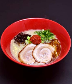 Powerful stuff ... Ippudo's signature offering, tonkotsu ramen.