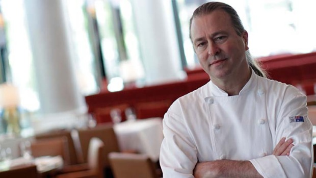 Fiery year: Restaurateur Neil Perry in Rosetta at Crown Casino.