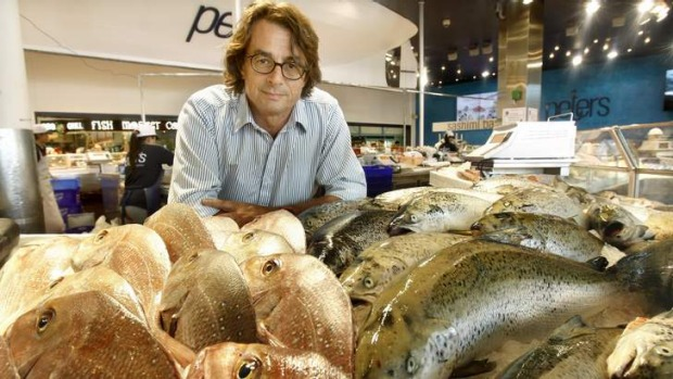 Fresh is best … industry consultant John Susman at Sydney Fish Market.